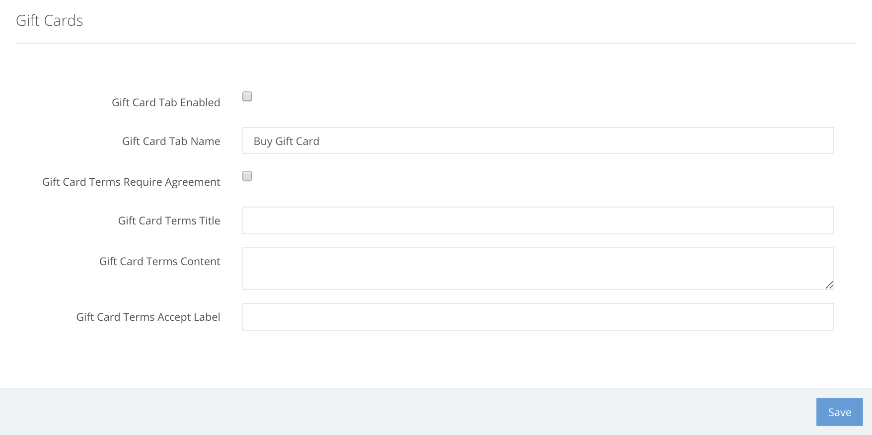Ovatu Manager How Do I Enable Online Gift Card Sales Voucher
